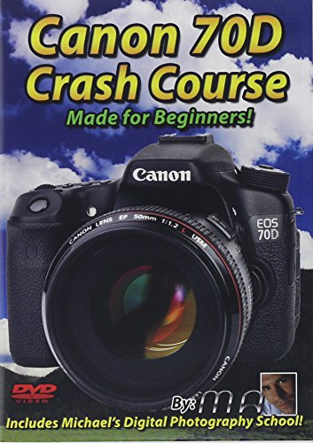 Preisvergleich Produktbild Canon 70D Crash Course Training Tutorial DVD / Made for Beginners!