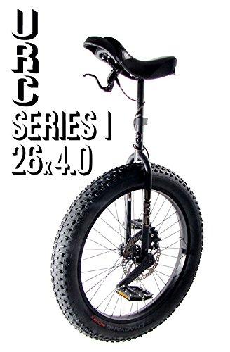 """URC Einrad Muni 26\"""" Series 1 - mit Scheibenbremsen-Anschluss und Fat Reifen"""