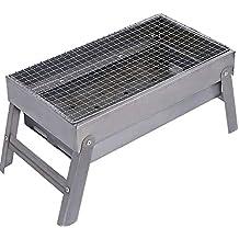Jian E Parrilla para Exteriores - Soporte para barbacoas Electrodomésticos de carbón Vegetal Herramientas Completas Parrilla
