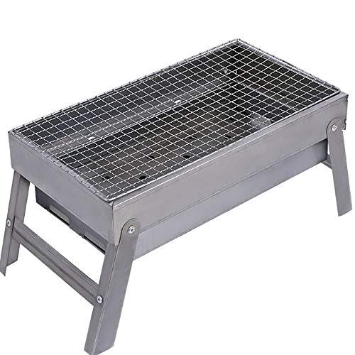 Jiu Si- Parrilla para exteriores - Soporte para barbacoas Electrodomésticos de carbón...