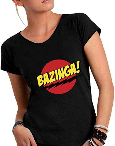 T-shirt donna Bazinga!