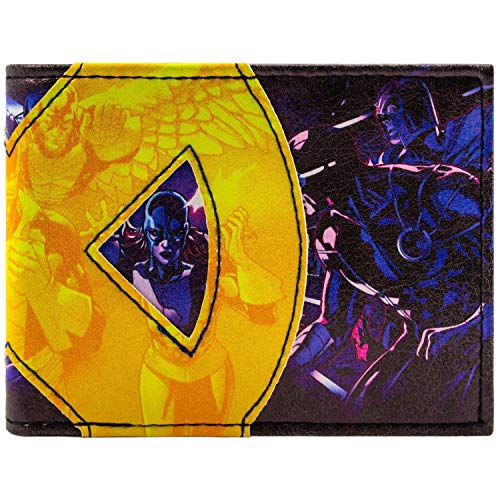Marvel X-Men Mutant Mannschaft Blau Portemonnaie -