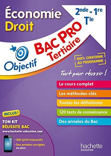 Objectif Bac Pro Fiches Économie-Droit par Sylvie Lefebvre