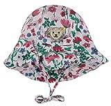 Steiff® Mädchen Sonnenhut 'Wildflowers', Präzise Farbe:Mehrfarbig, Größe:43
