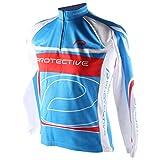 Protective Jasper Kinder Trikot Blau Langarm Jersey Sport Shirt Fahrrad