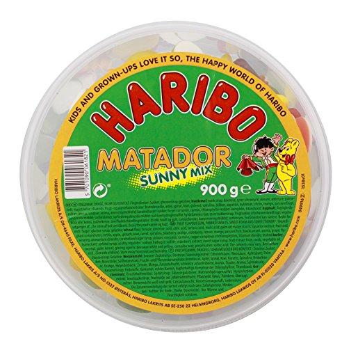 Haribo - Matador Sunny Mix - Fruchtgummi - 900g