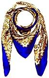 Produkt-Bild: Lorenzo Cana Luxus Seidentuch aufwändig bedruckt Tuch 100% Seide 100 x 100 cm harmonische Farben Damentuch Schaltuch