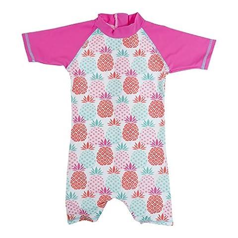 Baby Banz Tee Shirt ANTI-UV Shorty Surf Manches Courtes