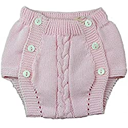 Ranita bebé Pecesa botones punto algodón Rosa