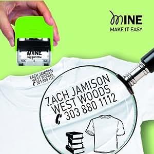 COLOP timbro printer mine per tessuti 14x38mm autocomp./autoinch. colop