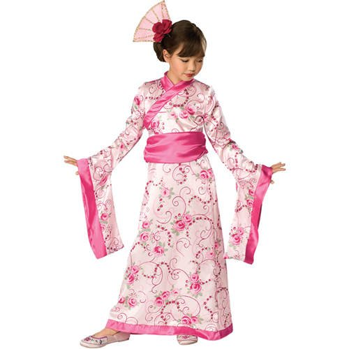 Asian Princess Kostüm Kinder - PARTY DISCOUNT Kinder-Kostüm Asian Princess, Gr. S