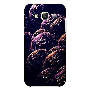 CrazyInk Premium 3D Back Cover for Samsung J5 2015 - Purple Dark Art