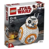 LEGO 75187 Star Wars The Last Jedi BB-8 Robot Toy, Collector\'s Model Building Set, Build and Play Star Wars Toys
