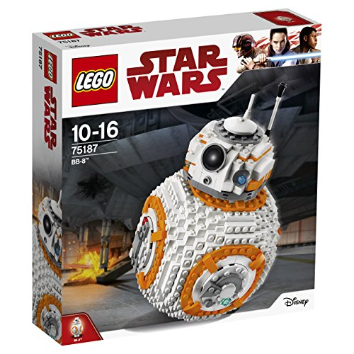 LEGO 75187 Star Wars The Last Jedi BB-8 Robot Toy, Collector's Model Building Set, Build and Play Star Wars Toys