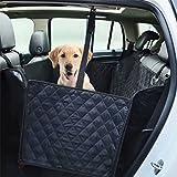 Logy Pet Dog coprisedili coprisedile amaca convertibile impermeabile antiscivolo posteriore imbottita con 2cinghie per maggior parte dei veicoli Cars, dimensioni 144,8x 129,5cm