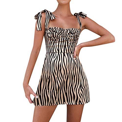 UINGKID Sommerkleid Damen, Petticoat Kleider Audrey Hepburn Vintage Kleid Rund-Ausschnitt Kurz Arm Festliches Kleid Geblühmt - Pyjama-hose Day Valentines