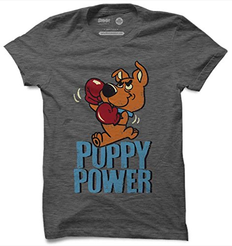 The Souled Store Scooby Doo: Puppy Power Cotton Printed T-Shirt for Men Women and Girls