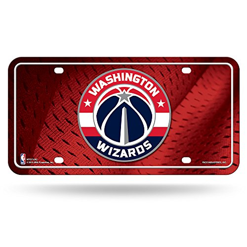 Rico Industries NBA Washington Wizards Metal Auto Tag