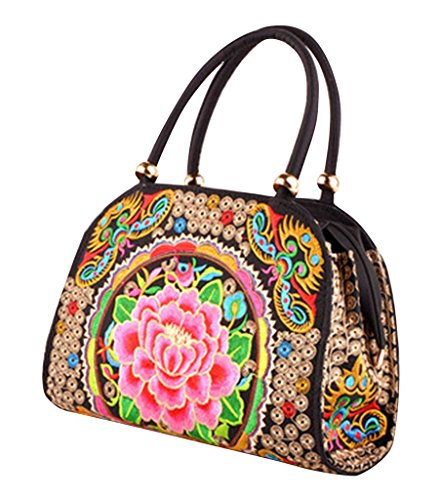 Remeehi, Borsa tote donna Red Peony