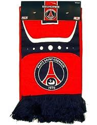 b5494a6f8b76a PARIS SAINT GERMAIN Echarpe Officielle PSG - Football Taille 140 cm [Divers]