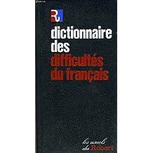 Dictionnaire des difficultes du francais