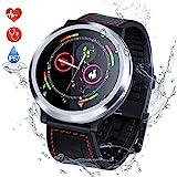 Smart Watch Pulsera Actividad Inteligente con Pulsómetro Podómetro Pulsera Deportiva Impermeable IP67 Monitor de Ritmo Cardíaco