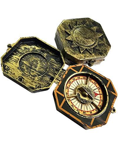raten Kompass als antikes Kostümzubehör für Seeräuber ()