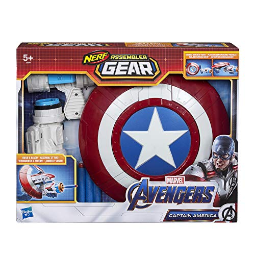 The Avengers Endgame Nerf Captain America Assembler Gear Best Price and Cheapest