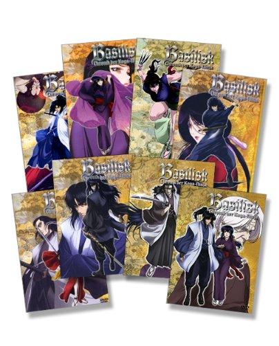 Vol. 1-8 - Chronik der Koga-Ninja (8 DVDs)