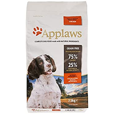 Applaws Natural, Complete Dry Dog Food 7.5kg Small/Medium Breed Adult Chicken