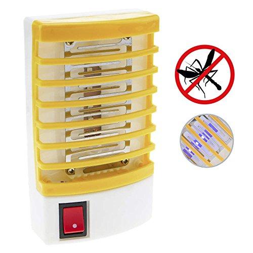 PrimeMatik - Enchufe lampara antimosquitos mata mosquitos moscas Insecticida eléctrico
