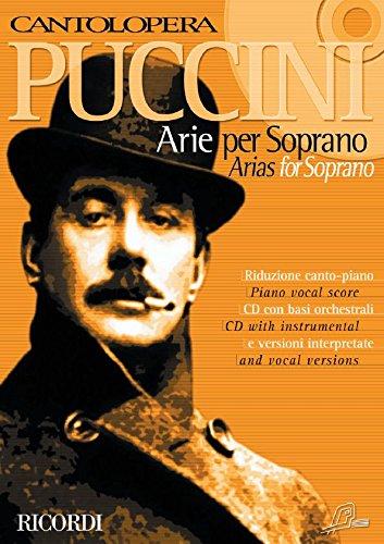 Puccini : Cantolopera (Arie per soprano) Volume 1 ...