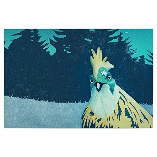 """artboxONE Poster 150x100 cm Comic """"What the Hegg'!"""" hochwertiger Design Kunstdruck - Bild Comic von Romina Lutz"""