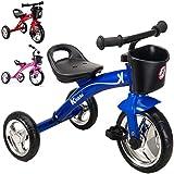 Kiddo 3 Wheeler Smart Design Kids Child Children Trike Tricycle Ride-On Bike 2-5 Years - New