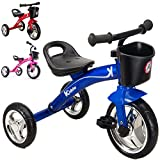 Best Bikes For Kids - Kiddo Blue 3 Wheeler Smart Design Kids Child Review