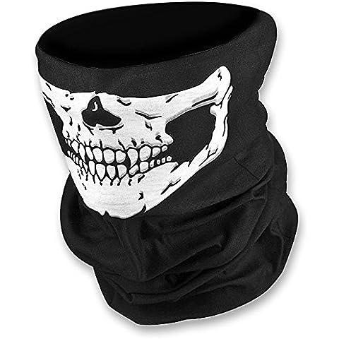WAWO Nueva Skeleton Skull Bandana Snowboard Esqu¨ª Motocicleta Bicicleta Rave Paintball Mask