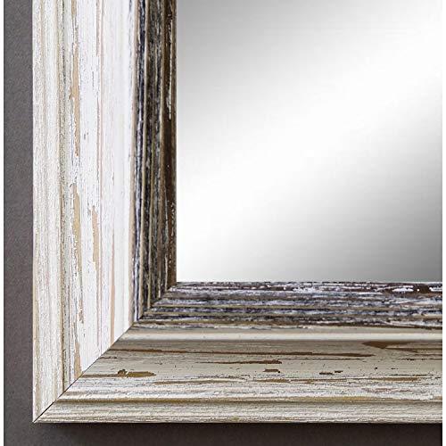 Spiegel Wandspiegel Badspiegel Flurspiegel Garderobenspiegel - Über 200 Größen - Bari Beige Weiß...