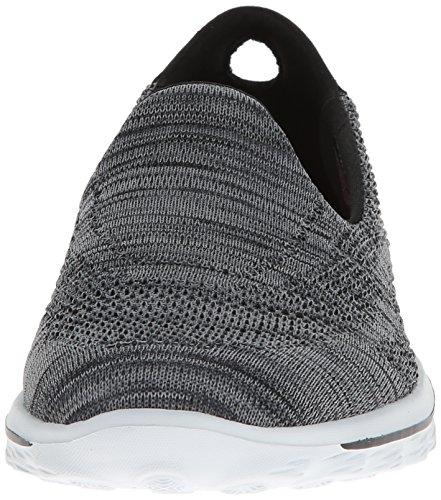 Skechers Go Walk 2Hypo, Baskets Basses Femme Noir (bkw)