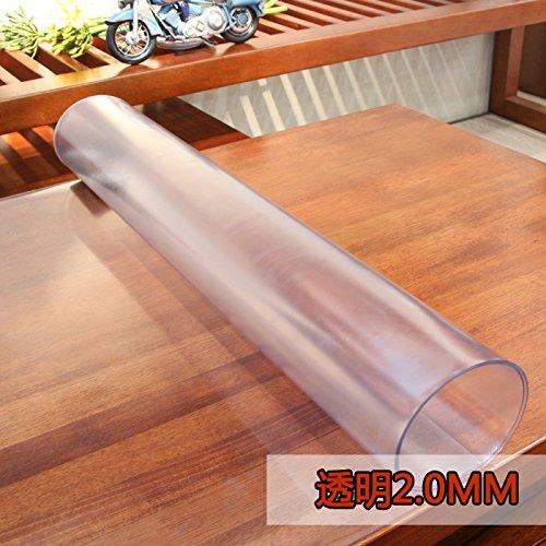 Pvc Wasserdicht Tuch Weich Glass Mat Tv-Schrank Transparent Gefrostet Kaffee Pad Kunststoff...