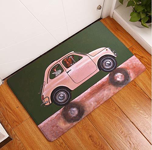 FREEZGTZ Cartoon Auto Indoor Outdoor Bodenmatte Korallen Fleece Star Wars Print Teppich Teppich Für Kinderzimmer Schlafzimmer Bad Rutschfeste Matte (Star Wars Auto-fußmatten)