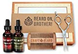 Premium Men's Beard Grooming Kit by Craf...