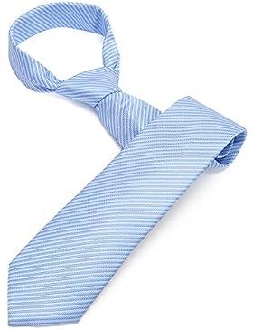 Zicac Corbata Elegante de Hombre para Banquete y Boda Formal (azul claro)