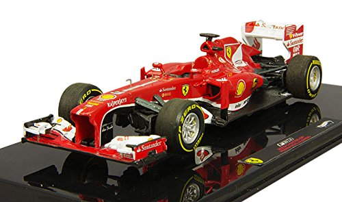Ferrari F.Alonso 2013 N.3 Winner Chinese GP 1:43 Hot Wheels Formula 1 Modello modellino Die Cast
