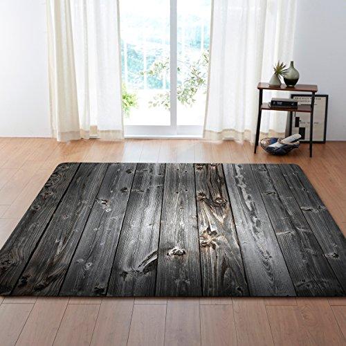 PPT Ökologischer Holzteppich, Superfeines Fasergewebe des Natürlichen Komforts Für Kinderschlafzimmer-Küchendesign,B,80 * 50In -