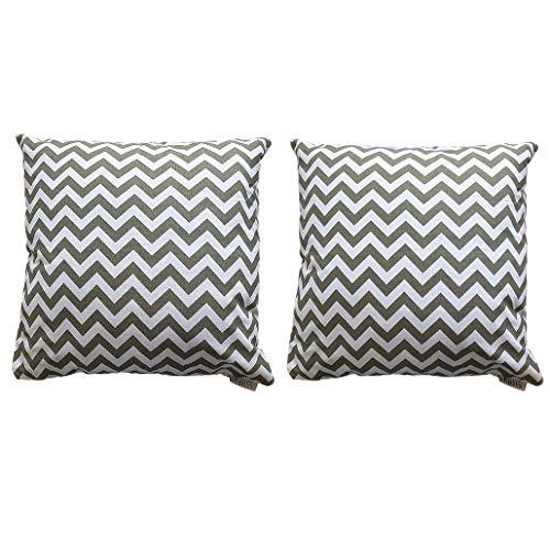 Kpblis Dekorative Cozy Überwurf Kissen Bezüge mit Reißverschlüsse, Sofa Home Decor, Modern Einfach Stil für Couch, Sofa Oder Bett-45,7x 45,7cm 2 18