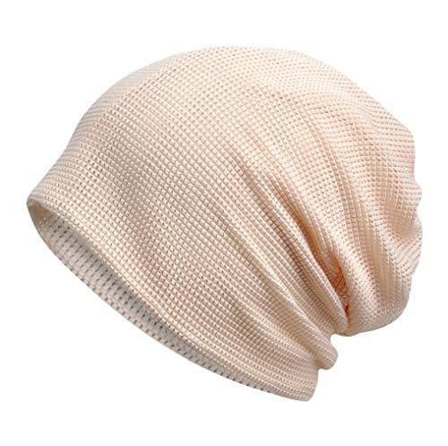 Bigood Simple Tour de Cou Multifonction Bonnet Solaire Casual Souple Femme Homme