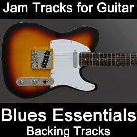 Blues Essentials Backing for Guitar (Key Bm) [Bpm 085]