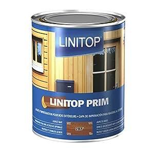 Sous couche satin mat bois LINITOP PRIM & FINISH - 5 Litres - 284 Palissandre
