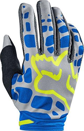 Fox 2017-Guanti da motocross/MTB donna-dirtpaw-grigio-blu: taglia guanti: L/8