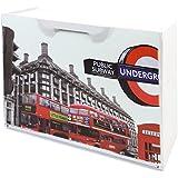 ArtPlast U50/LON - Zapatero en polipropileno decorado Londres